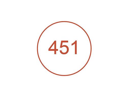 Número 451