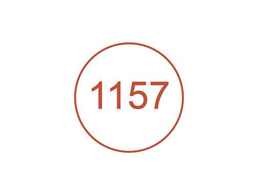 Número 1157