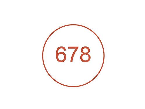 Número 678