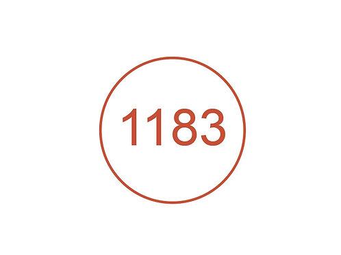 Número 1183