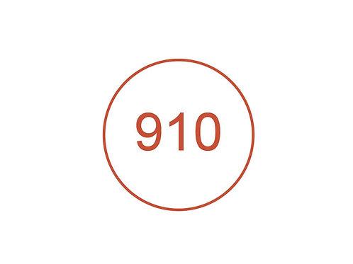 Número 910