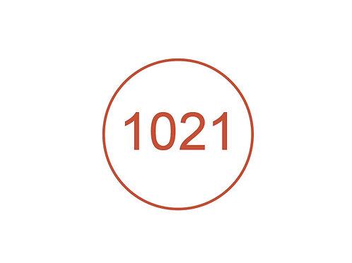 Número 1021