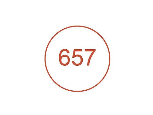 Número 657