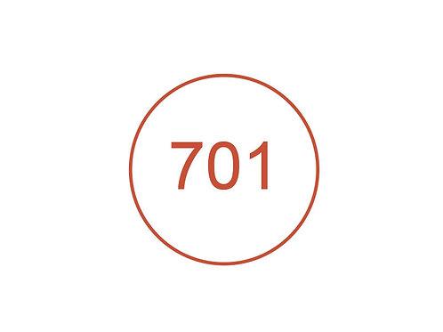 Número 701