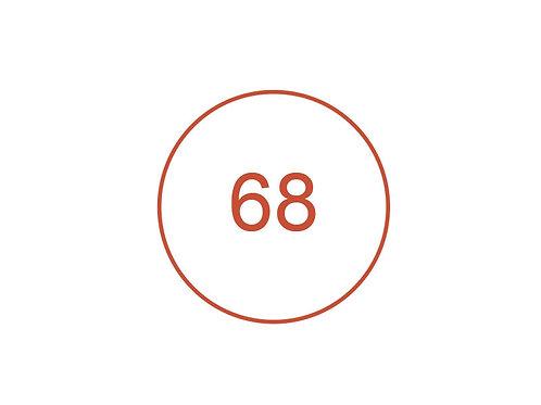 Número 68