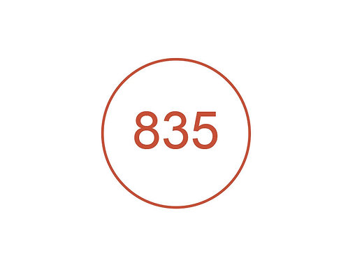 Número 835