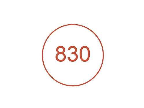 Número 830