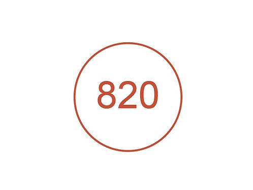 Número 820