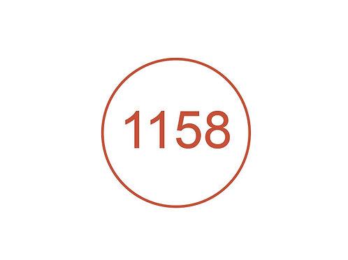 Número 1158