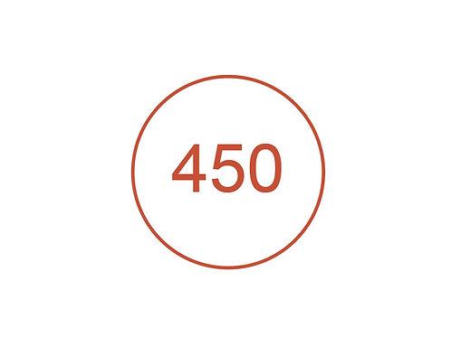 Número 450