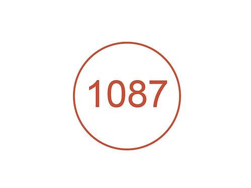 Número 1087