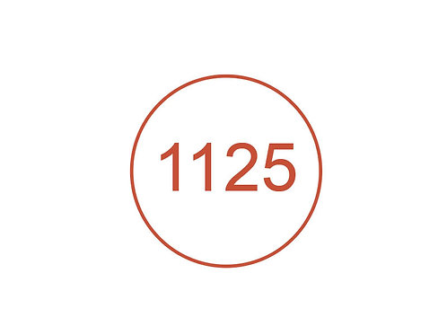 Número 1125