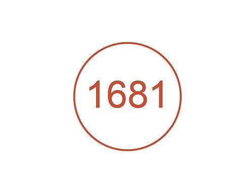 Número 1681