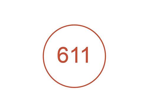 Número 611