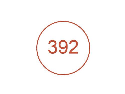 Número 392