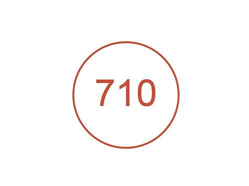 Número 710