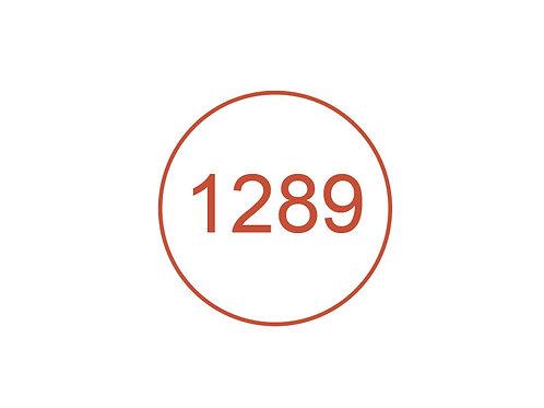 Número 1289