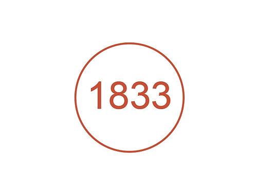 Número 1833