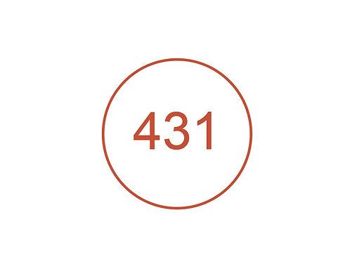 Número 431