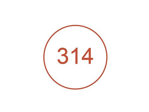 Número 314