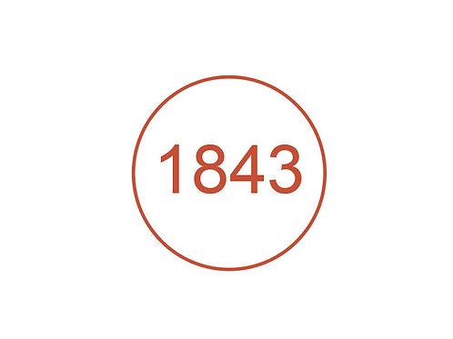 Número 1843