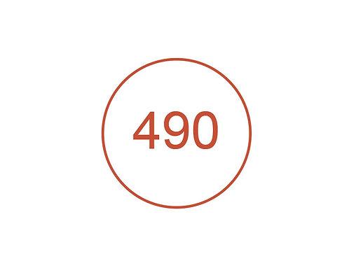 Número 490