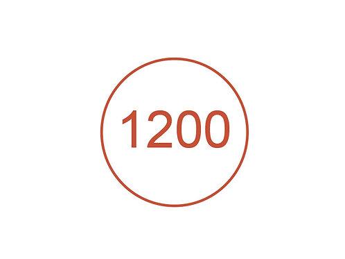 Número 1200