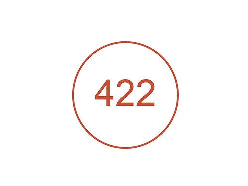 Número 422