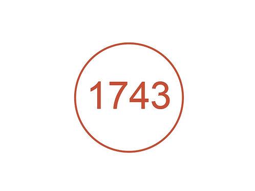 Número 1743