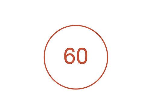 Número 60