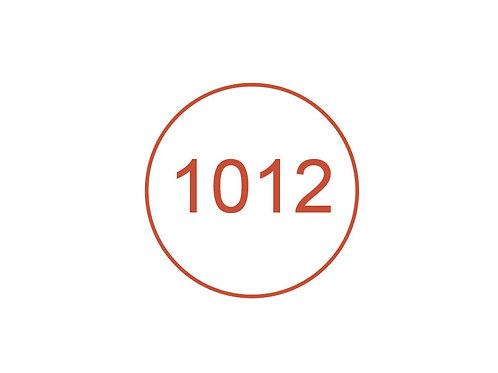 Número 1012