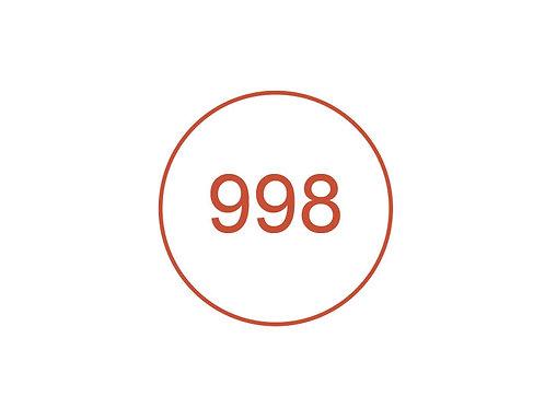 Número 998