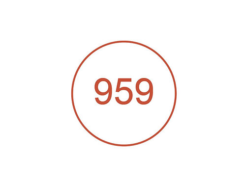 Número 959
