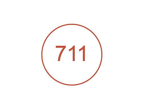 Número 711
