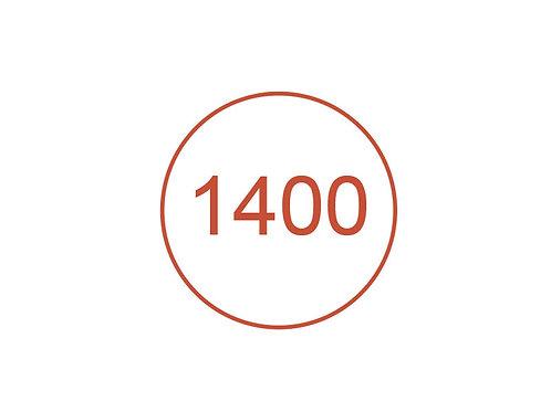Número 1400
