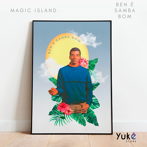 Poster Ben Samba é Bom
