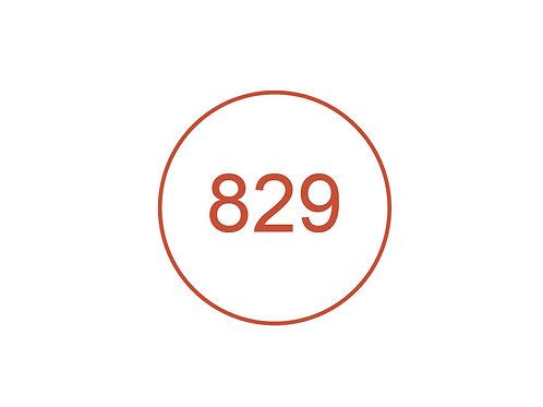 Número 829