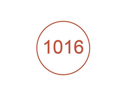 Número 1016