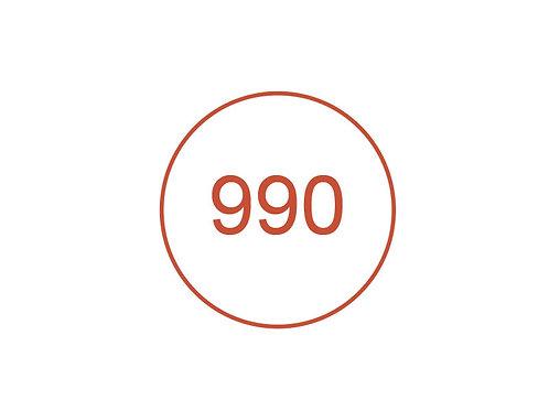 Número 990