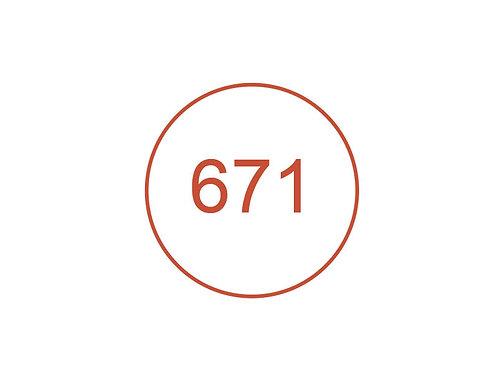 Número 671