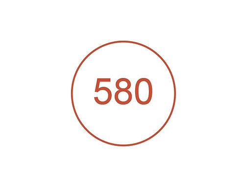 Número 580