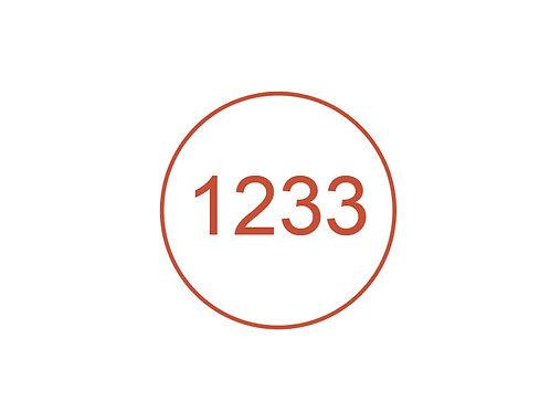 Número 1233