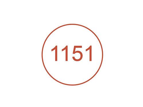 Número 1151