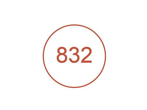 Número 832