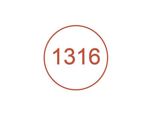 Número 1316