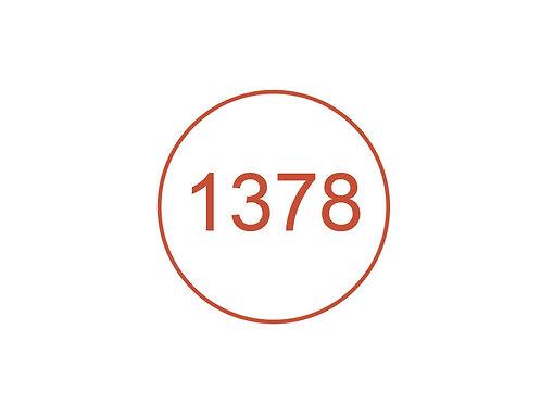 Número 1378