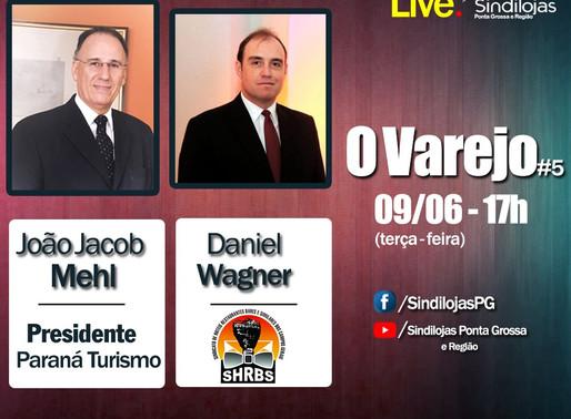 """Daniel Wagner participa da live """"O Varejo"""""""