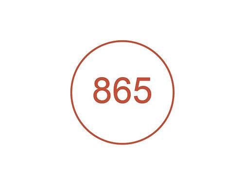 Número 865