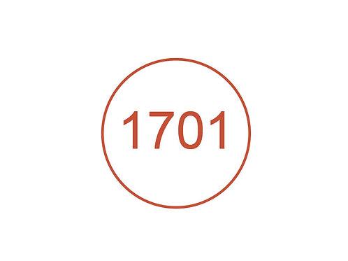 Número 1701