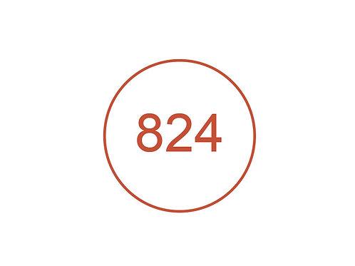 Número 824
